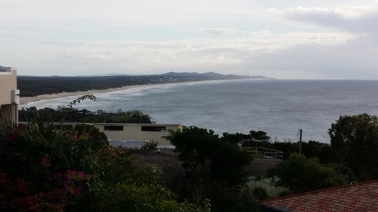 The Point Coolum Beach : the view from our balcony
