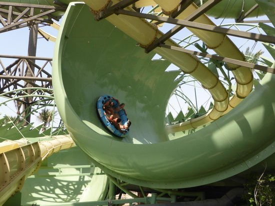 Atlantis, The Palm: The best water slide ever seen...