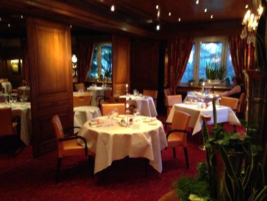 Le Parc Hotel Restaurant & Spa : Restaurant