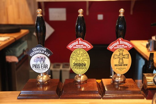Horsley, UK: Local ales