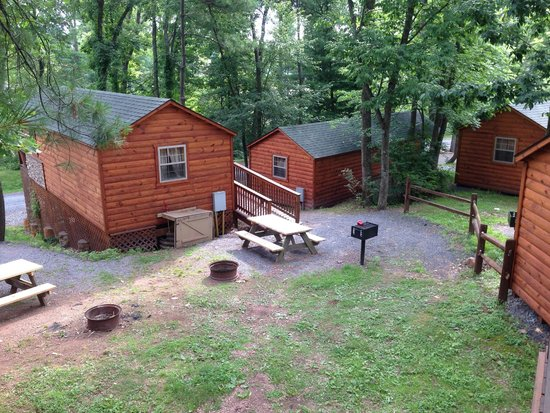 Twin Grove RV Resort & Cottages: View from H24 deck