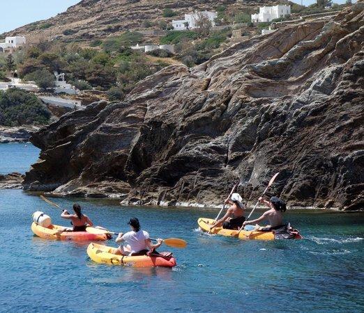 Paradise Studios & Apartments: Kayak Safari