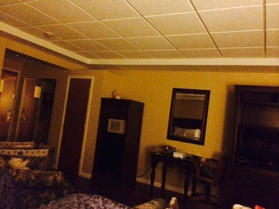 "Ocean Inn and Suites: This is what you get...what management calls an ""oversized suite"""