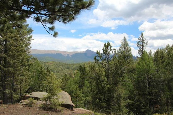 Mueller State Park: View eastward toward Pike's Peak