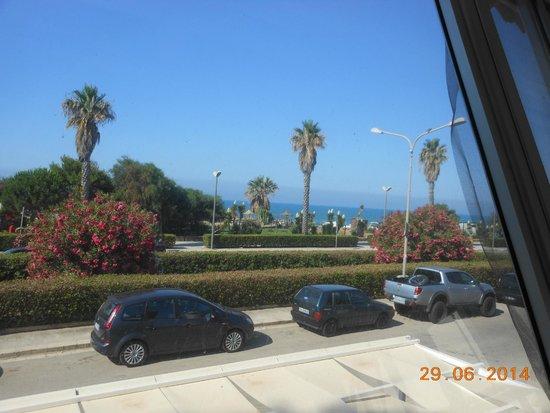 Baia del Sole Villaggio: visuale dal ristorante