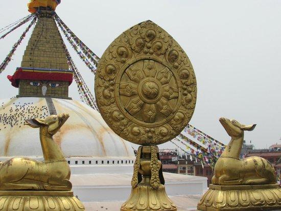 Stûpa de Bodnath : Lo stupa