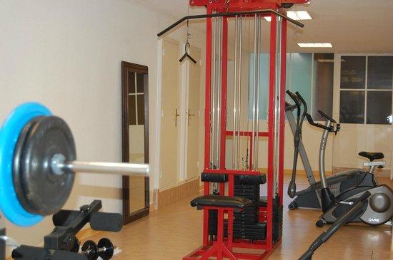 Hôtel de Compostelle : Salle Fitness