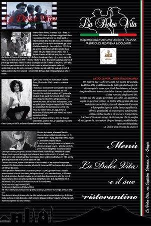 La Dolce Vita...uno stile italiano : Ristorantino del locale