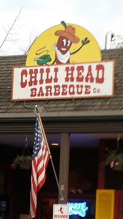 Chili Head BBQ Co.: Entrance to Chili Head BBQ