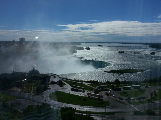 Niagara Falls Marriott Fallsview Hotel & Spa: View from the 17th Floor