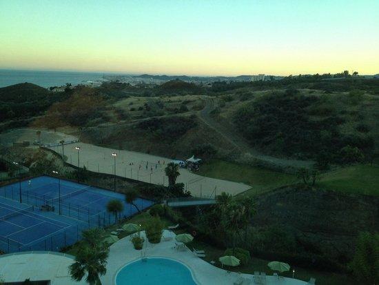 """DoubleTree by Hilton Hotel Resort & Spa Reserva del Higueron: Vue de la chambre standard """"vue sur mer"""""""