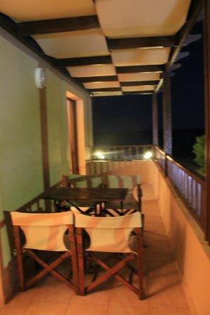 Indigo Mare: Balcony