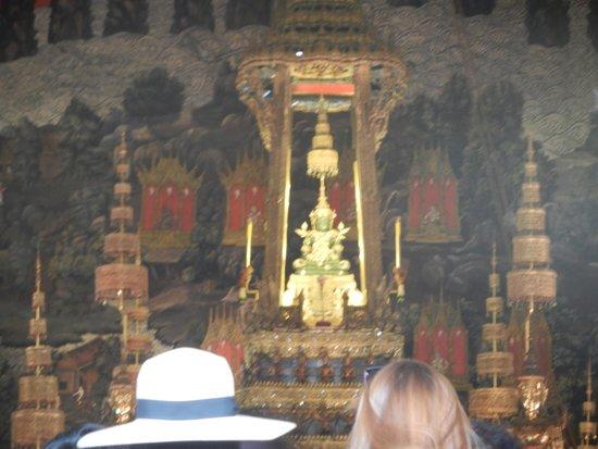The Grand Palace: Vue intérieure, Emerald Buddha
