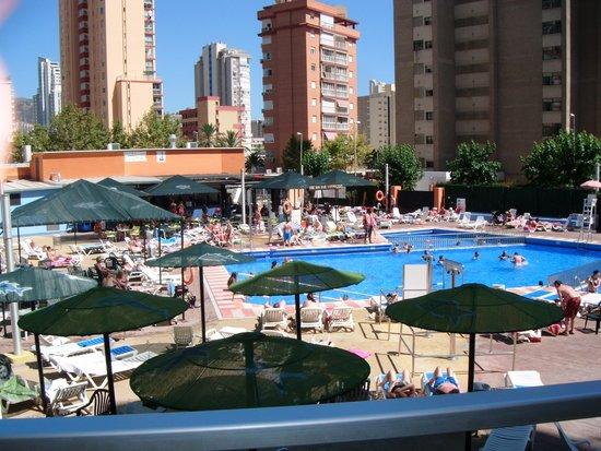 MedPlaya Hotel Rio Park: outside pool bar area