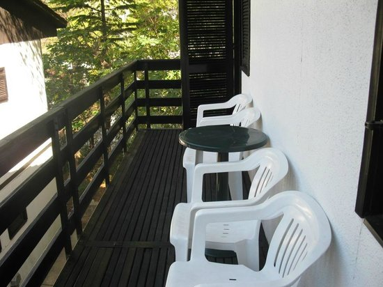 Bungalows Urania : Балкон