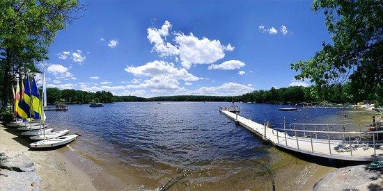 Woodloch Pines Resort: Lake Teedyuskung_Panorama