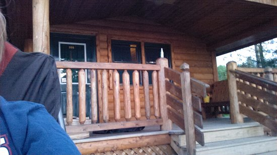 Mackinaw Mill Creek Campground: cabin