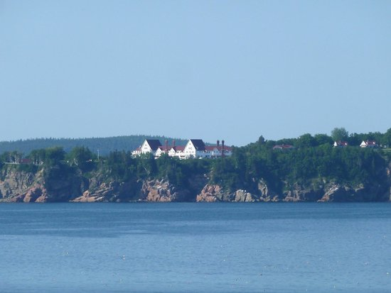 Keltic Lodge Resort & Spa : View of Lodge from Cabot Trail