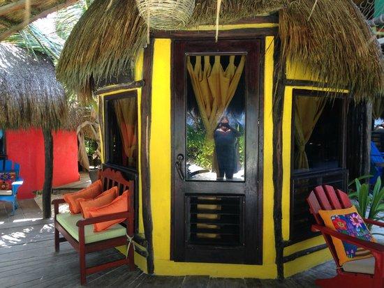 Cabanas La Luna: Our cabana