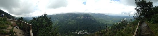 Chimney Rock State Park: From the top