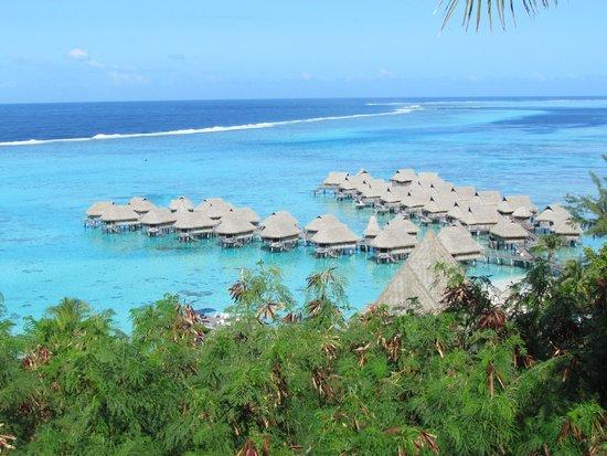 Sofitel Moorea Ia Ora Beach Resort : VISTA DE SOFITEL