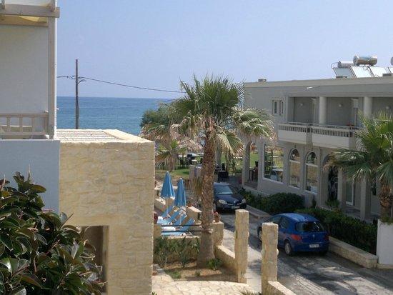 Hotel Erato: utsikten från balkongen