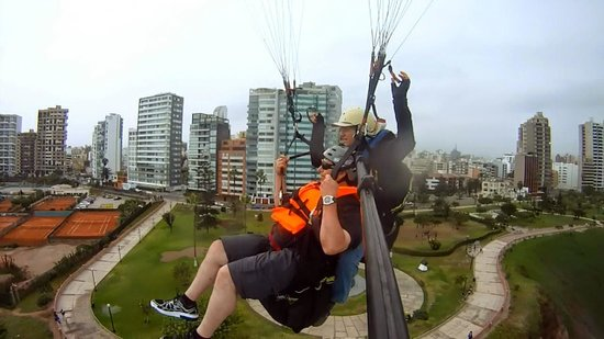 Aeroxtreme Paragliding School: Birdseye view