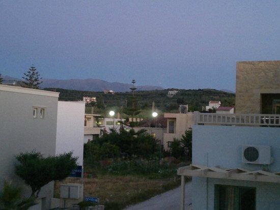 Hotel Erato : utsikt
