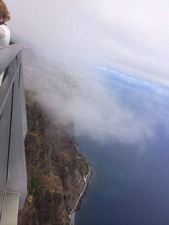 Cabo Girao: In the clouds!!! Craaaazyyyy