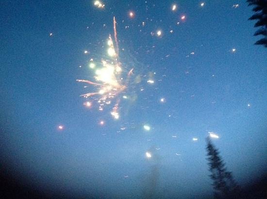 BlueBay Villas Doradas Adults Only: fireworks at guest party
