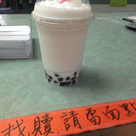 Chinatown: My first bubble tea