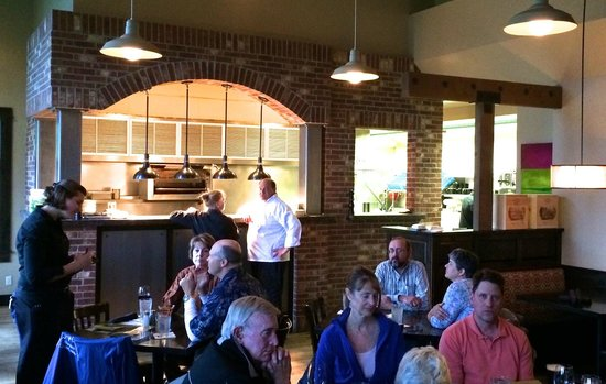 Olive B's Big Sky Bistro: Restaurant Interior