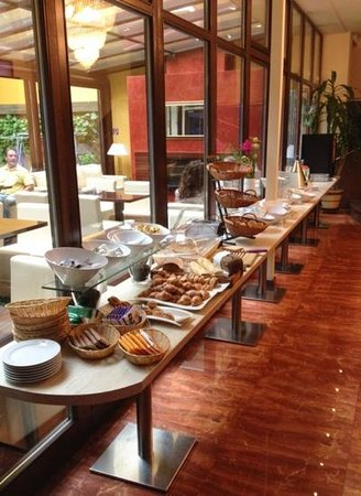 Klassik Hotel: Breakfast buffet