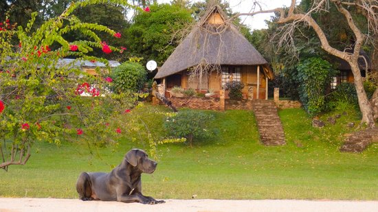 Ngala Beach Lodge: Beach Chalet overlooking Lake Malawi