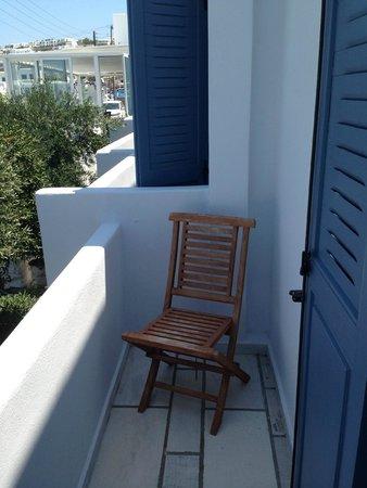 Adonis Hotel: Nice balcony