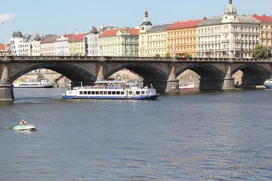 La Boutique Hotel Prague : fiume Moldava