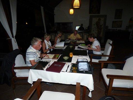 Villa Taman di Blayu: Salle manger