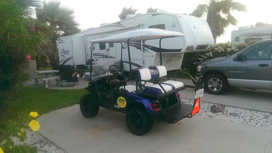 Gulf Waters Beach Front RV Resort: Site 749