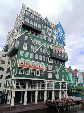 Inntel Hotels Amsterdam Zaandam: The view of the hotel from outside