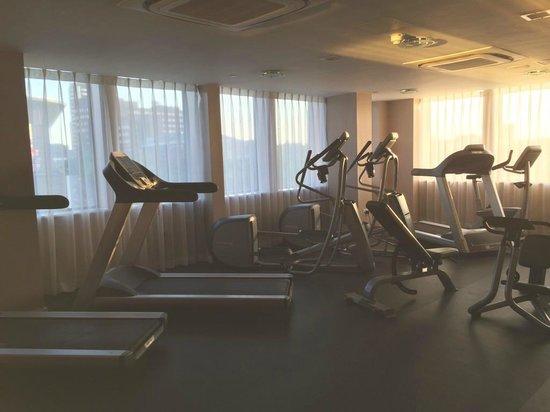 Hampton by Hilton Birmingham Broad Street: Gym