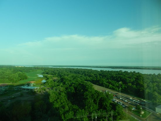 Gold Strike Casino Resort : View outside our rooom