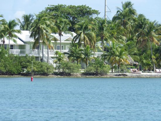Lime Tree Bay Resort: View from gulf