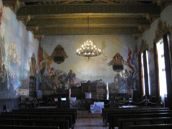 Santa Barbara County Courthouse: Commissioner's Court.