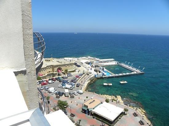 Preluna Hotel & Spa : dal balcone