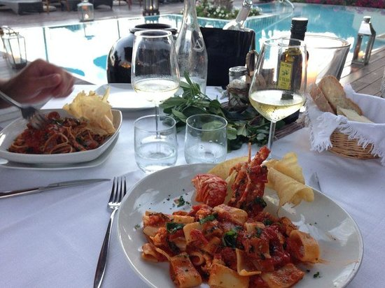 Hotel Su Sergenti: Diner