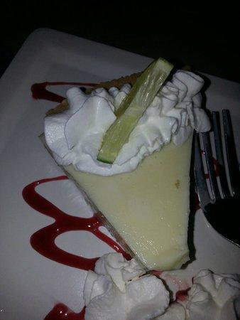 Sandbar Restaurant: Key Lime Pie made fresh daily in house.
