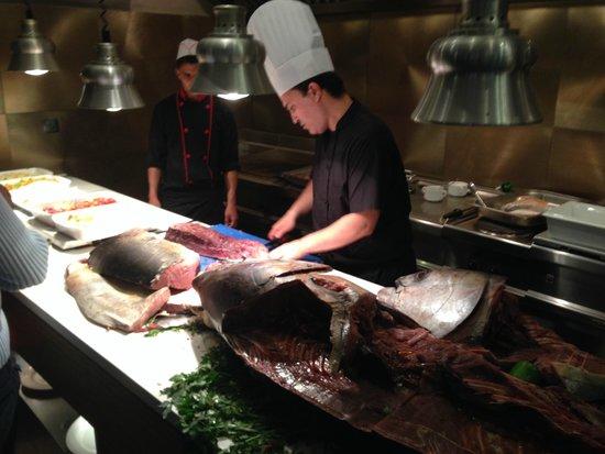 Kenzi Club Agdal Medina: soiree poissons