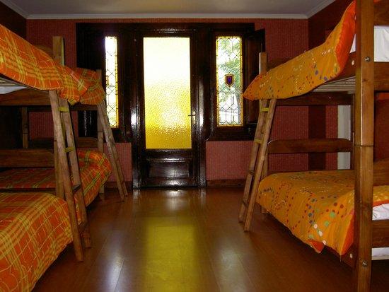 Chile Hostales: Habitación compartida