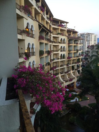 Velas Vallarta : The view from our balcony looking toward the city.