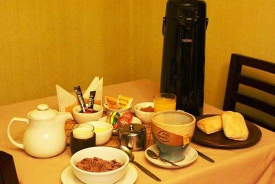 Chile Hostales: Desayuno